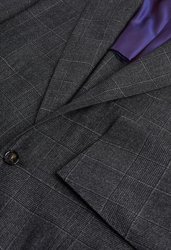 Grey Plaid Suit, image 2