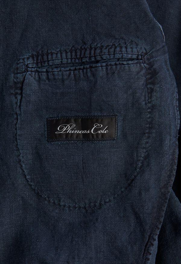 Solid Linen Suit, image 4