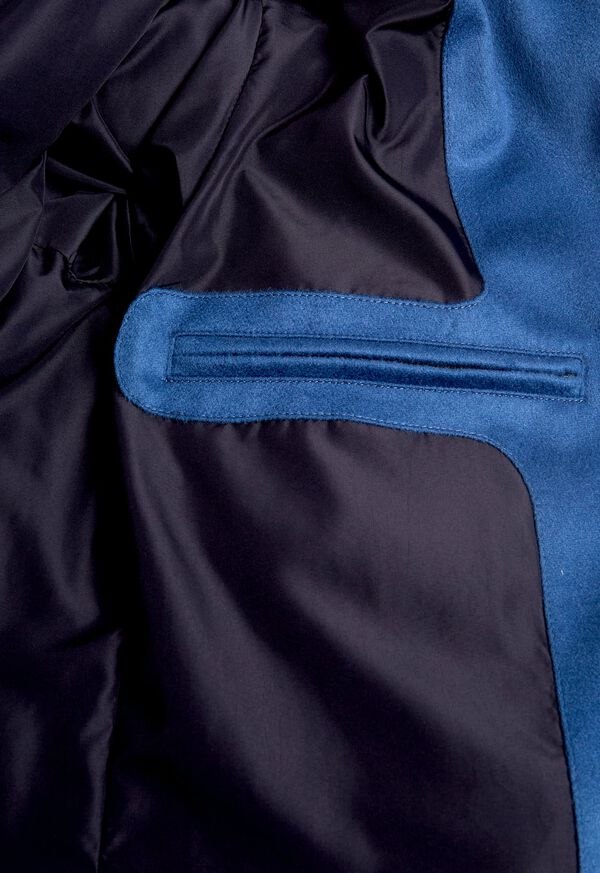 Cashmere Quilted Down Puffer Jacket, image 7