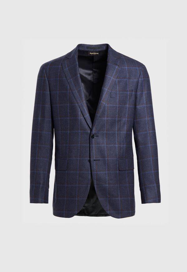 Wool Windowpane Sport Jacket, image 1
