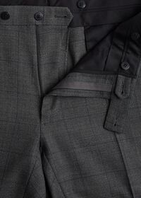 Grey Nailhead Double Breasted Suit, thumbnail 6