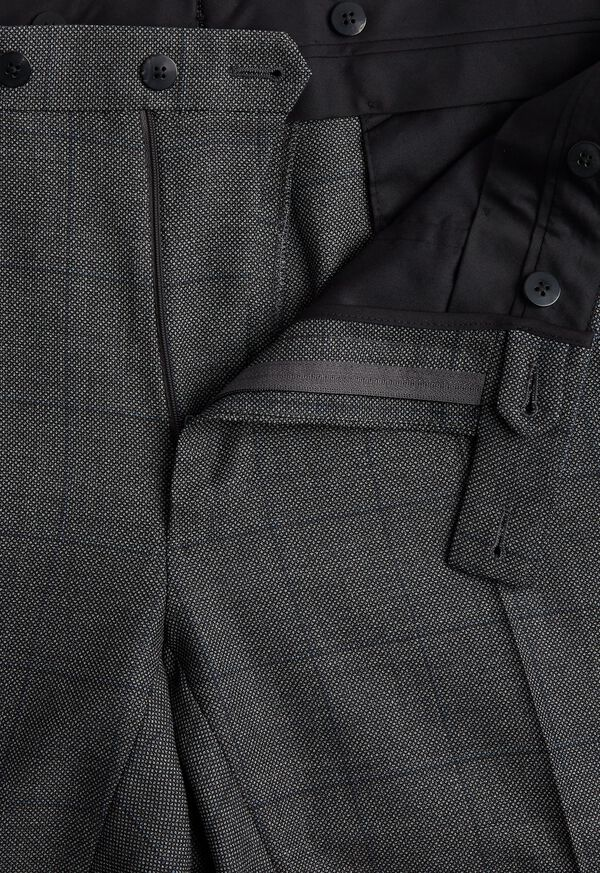 Grey Nailhead Double Breasted Suit, image 6