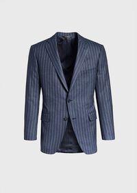 Paul Fit Chalk Stripe Super 120s Wool Suit, thumbnail 3