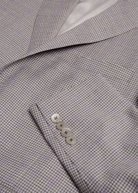 Grey Check with Lilac Windowpane Sport Jacket, thumbnail 2