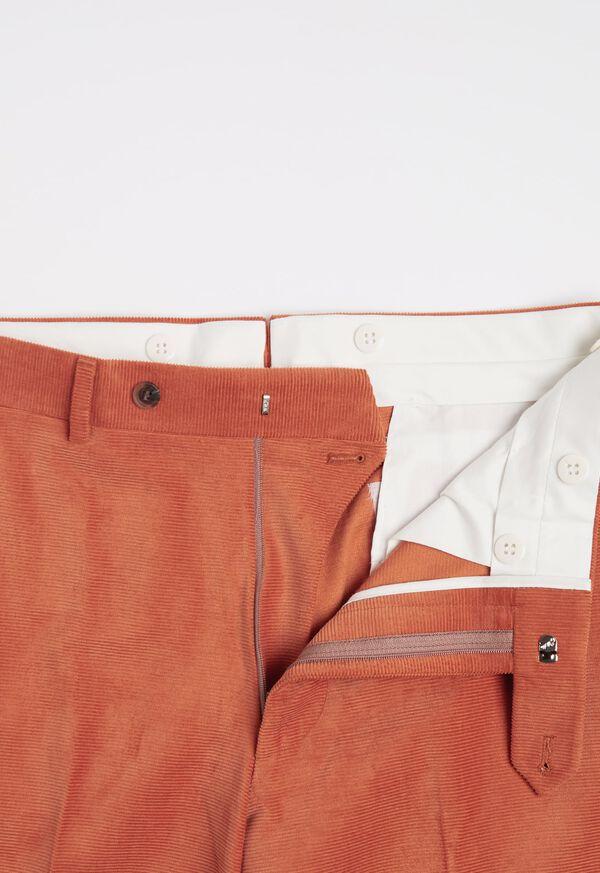 Orange Corduroy Dress Pant, image 3