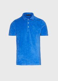 Terry Cloth Polo Shirt, thumbnail 1