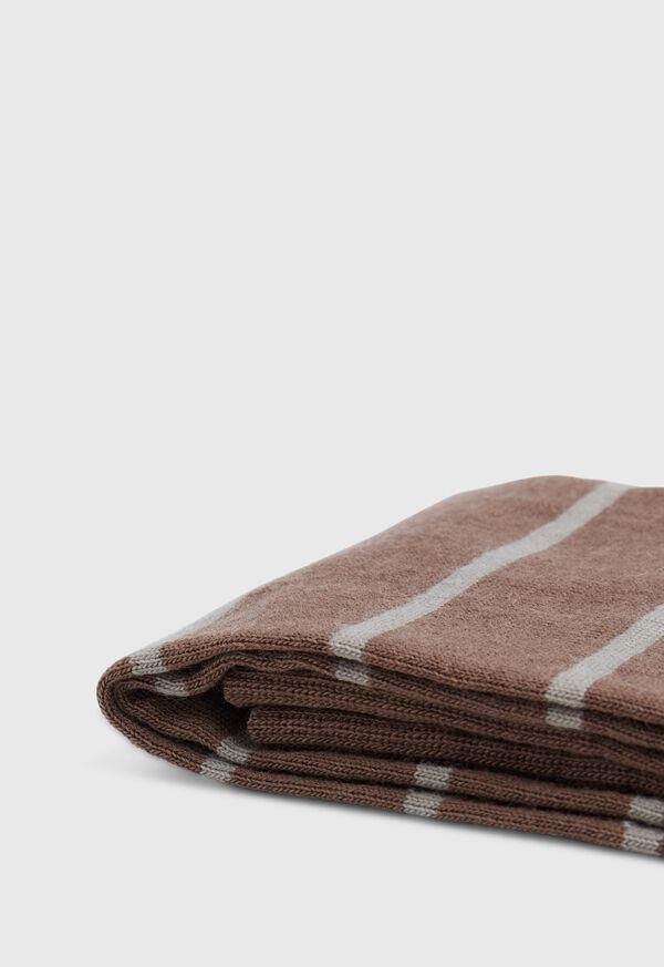Wool Blend Stripe Sock, image 2