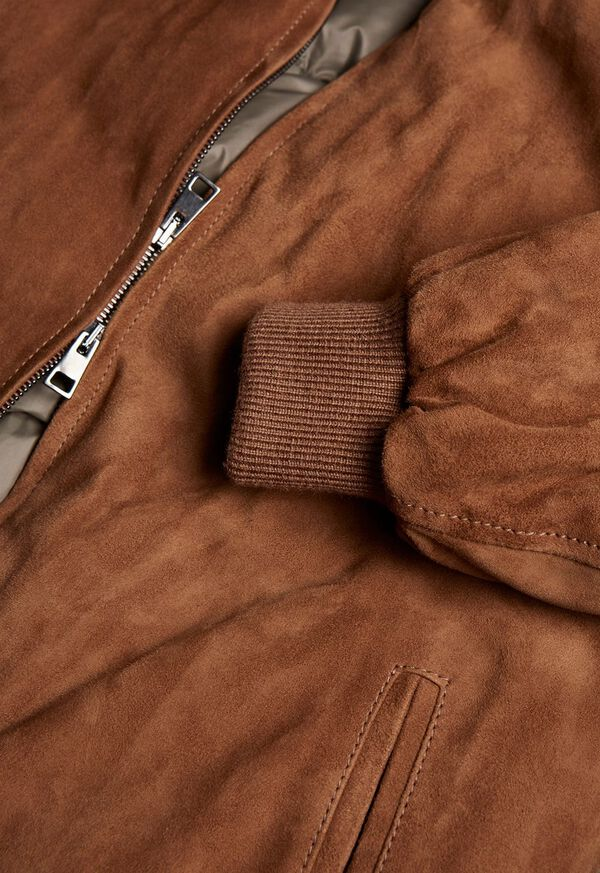 Suede Blouson Jacket, image 2