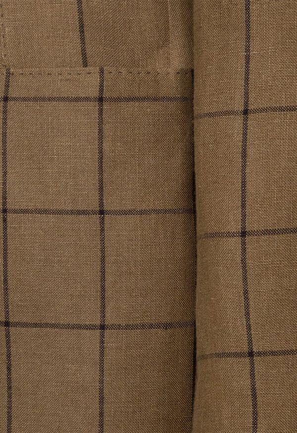 Linen Windowpane Soft Jacket, image 5