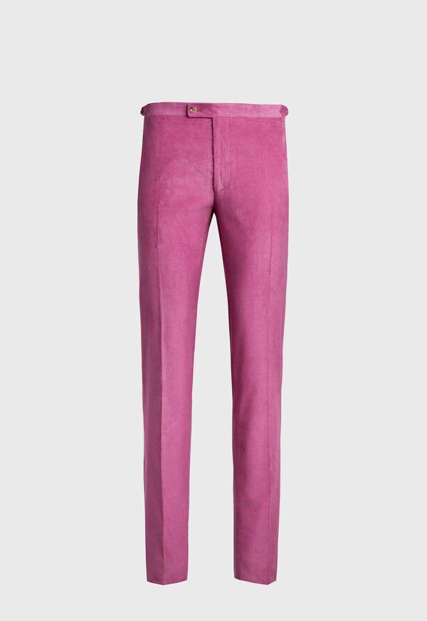 Flat Front Corduroy Trouser, image 1