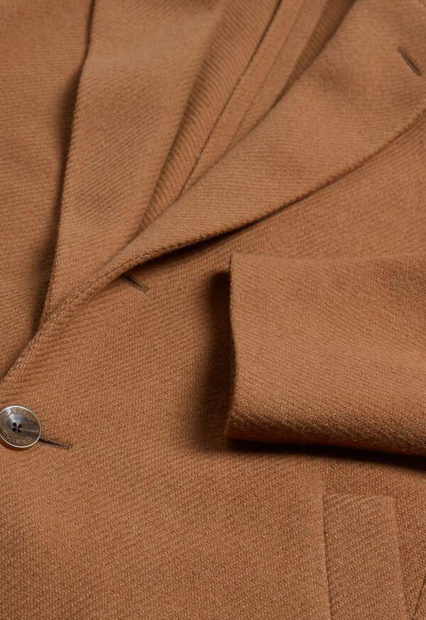 Textured Twill Coat, image 2