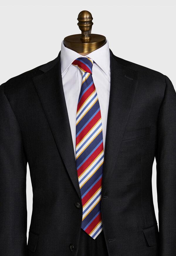 Wide Stripe Tie, image 2