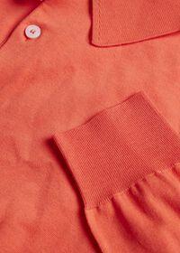 Long Sleeve Cotton Polo, thumbnail 3