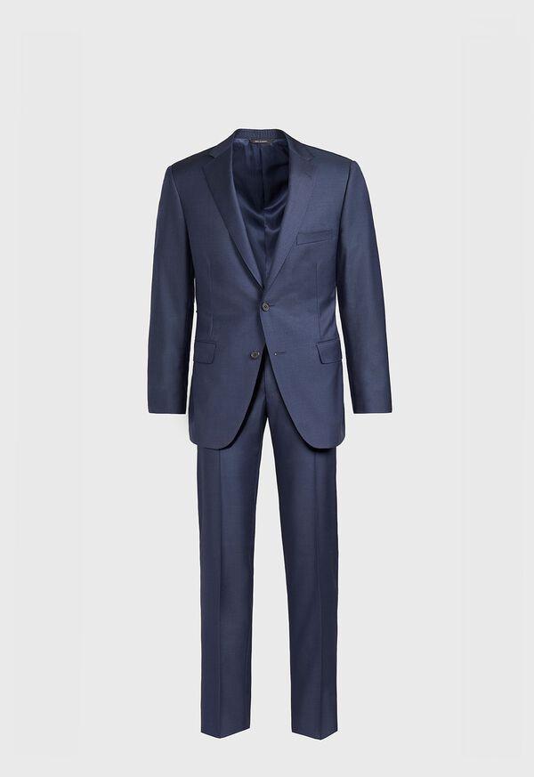 Paul Fit Sharkskin Super 110s Suit, image 1