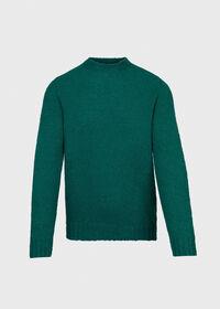 Wool Blend Boucle Crewneck Sweater, thumbnail 1