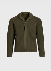 Merino Wool Shawl Collar Cardigan, thumbnail 1