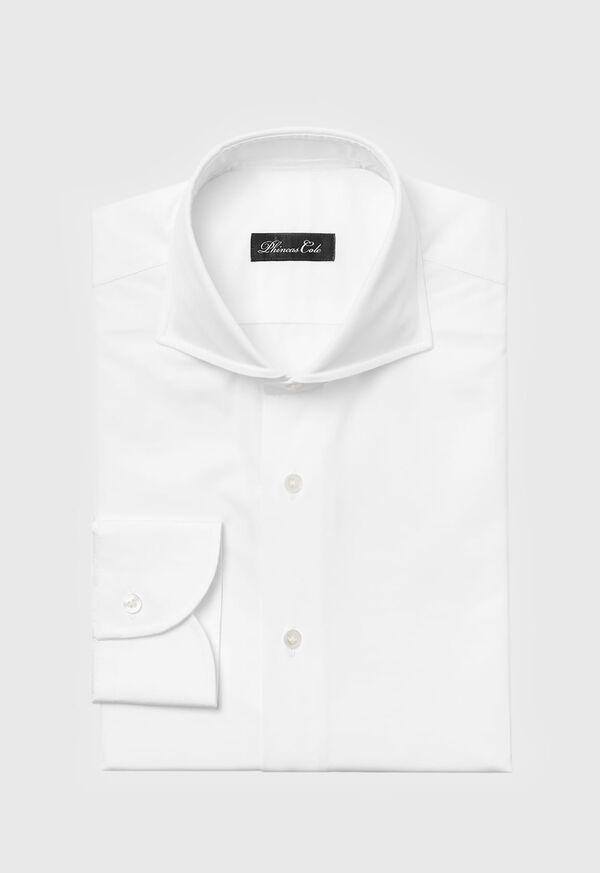 White Cotton Dress Shirt, image 1
