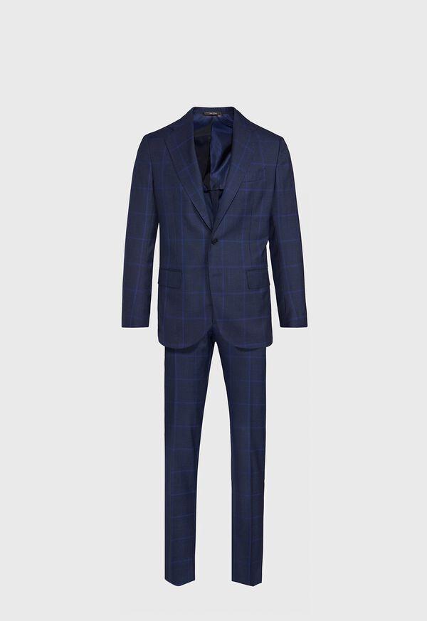 Blue Plaid Suit, image 1