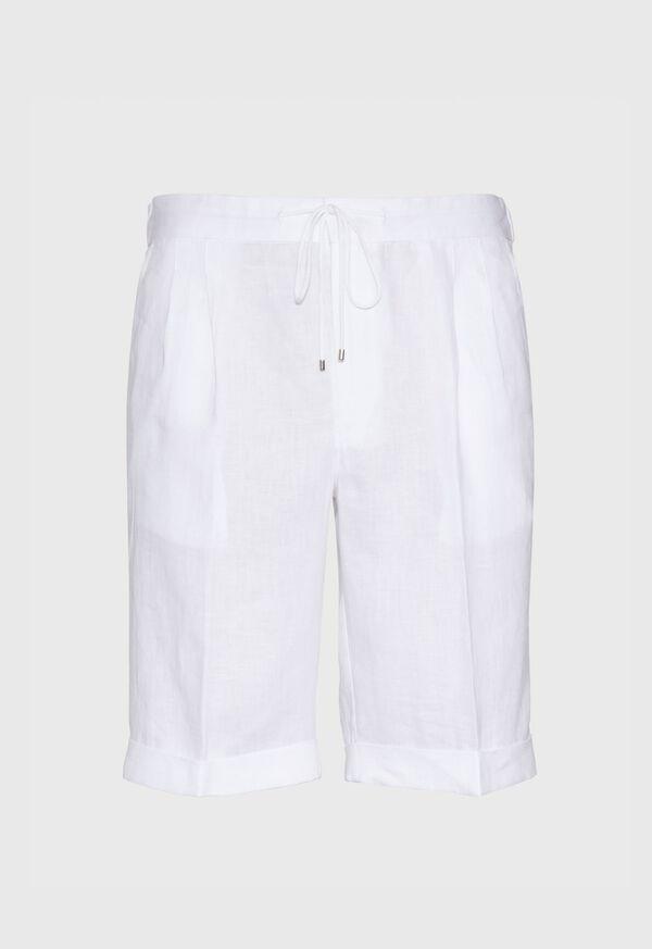 Linen Drawstring Shorts, image 1