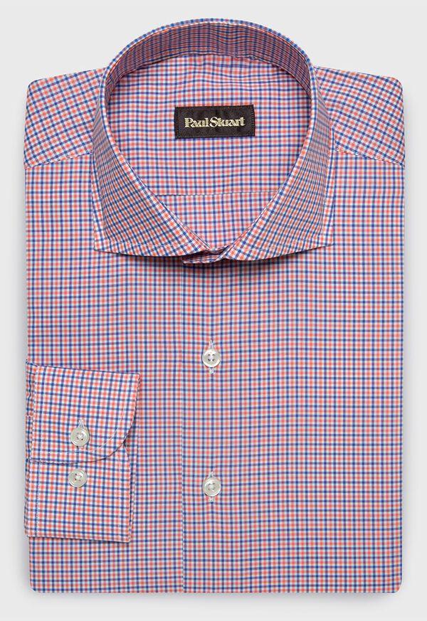 Cotton Mini Check Sport Shirt, image 1
