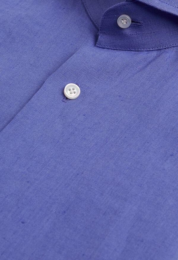 Washed Linen Sport Shirt, image 2