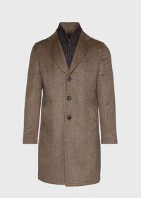 Plaid Coat with Zip-Out Vest, thumbnail 1