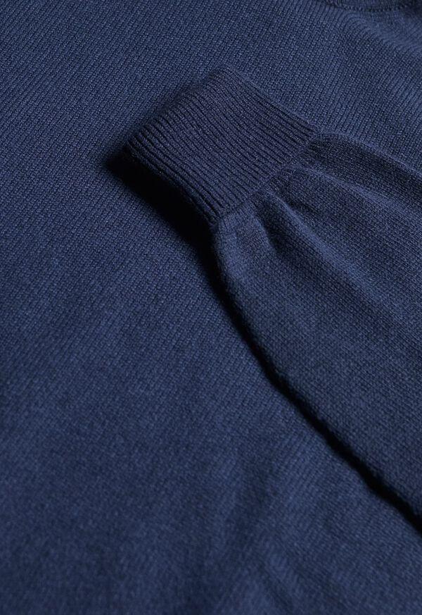 Scottish Cashmere V-Neck Sweater, image 48