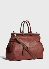 Bridle Leather Carpet Bag, thumbnail 5