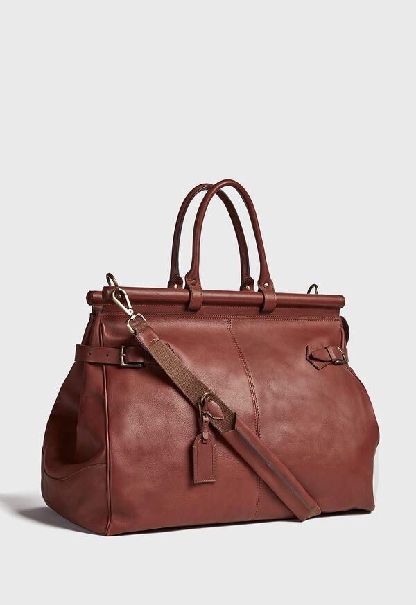 Bridle Leather Carpet Bag, image 5