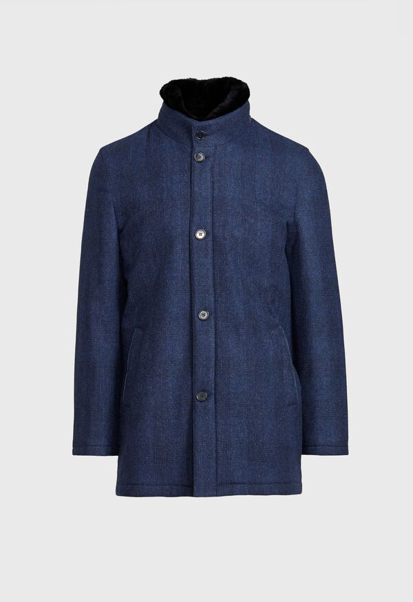 Storm System Coat With Beaver Collar, image 1