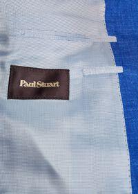 Royal Blue Solid Soft Jacket, thumbnail 3