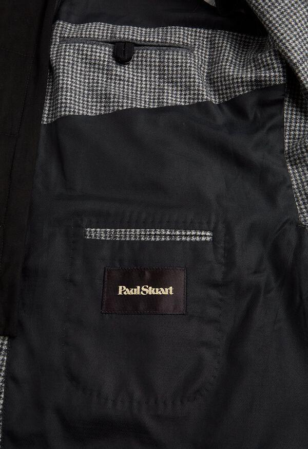 Houndstooth Travel Jacket and Built-in Vest, image 4
