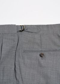 Pleated Pant with Adjuster Belt, thumbnail 3