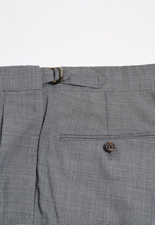Pleated Pant with Adjuster Belt, image 3