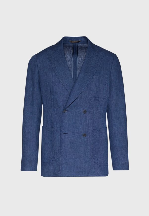 Blue Linen Jacket, image 1