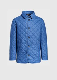 Wool Quilted Coat, thumbnail 1