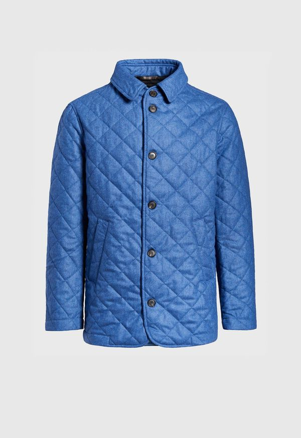 Wool Quilted Coat, image 1