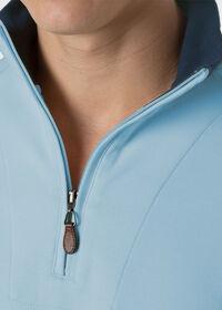 Pima Cotton 1/2 Zip Sweater, thumbnail 4