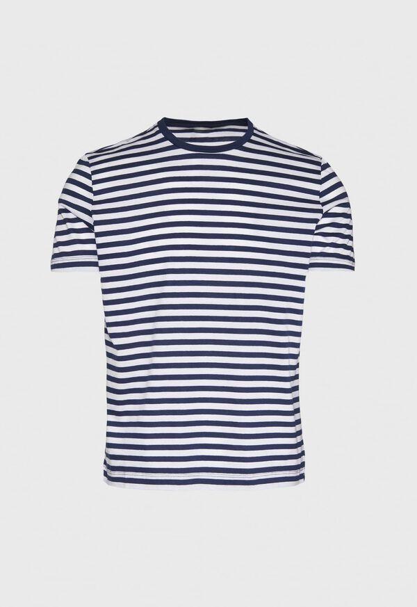 Cotton Striped Jersey Shirt