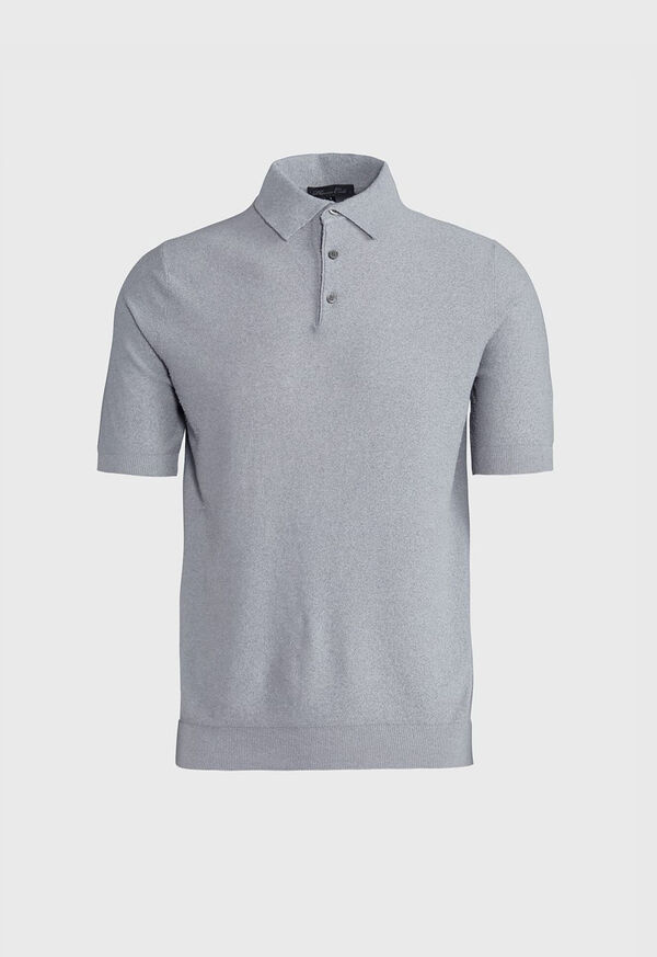 Solid Short Sleeve Polo, image 1