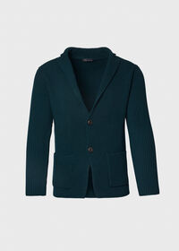 Merino Wool Sweater Jacket, thumbnail 1