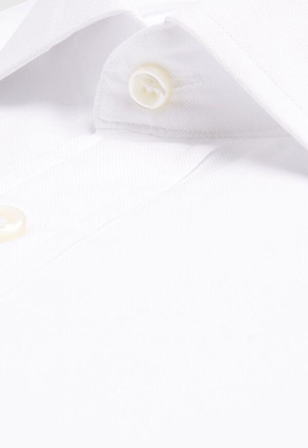Slim Fit Super 140s Cotton Dress Shirt, image 2