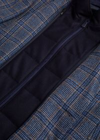 Plaid Travel Jacket and Built-in Vest, thumbnail 3