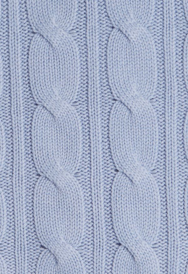 Cashmere Cable Knit Scarf, image 2