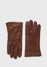Lambskin Gloves with Cashmere Lining, thumbnail 1