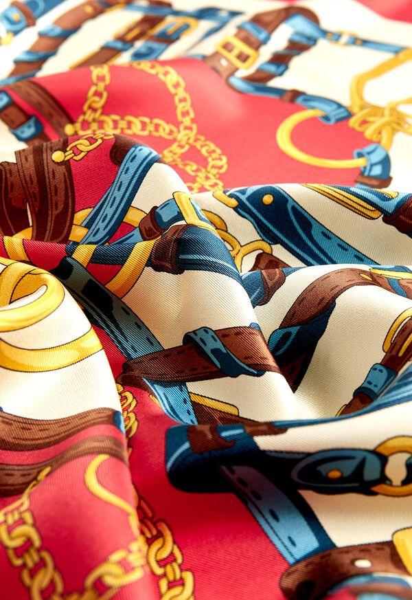 Belt Foulard Silk Scarf, image 2