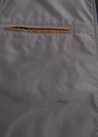 Performance Wool Vest With Suede Trim, thumbnail 4