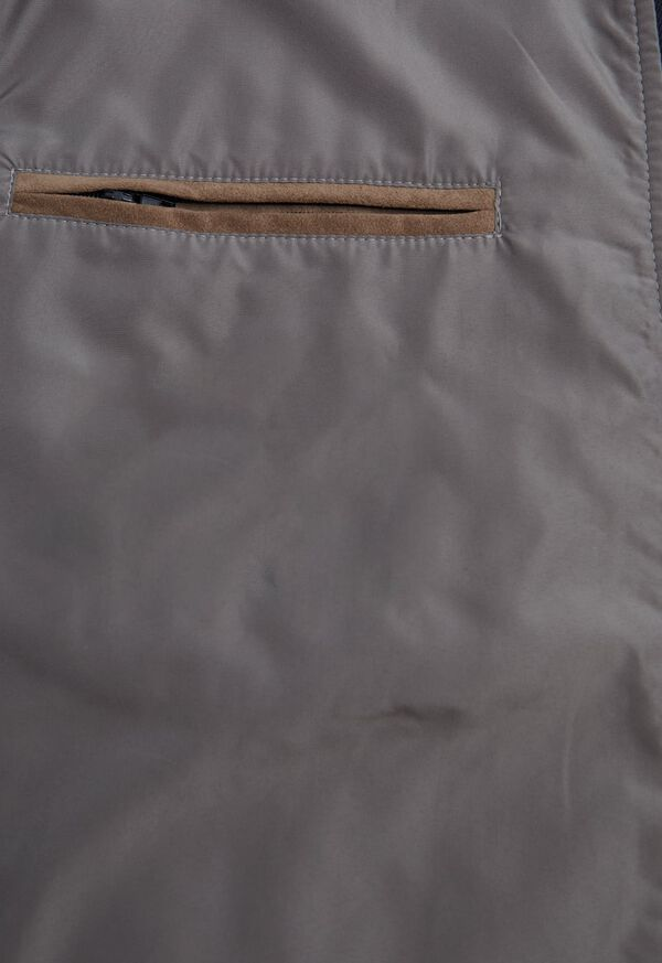 Performance Wool Vest With Suede Trim, image 4