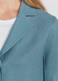 One Button Sparkle Jacket, thumbnail 3