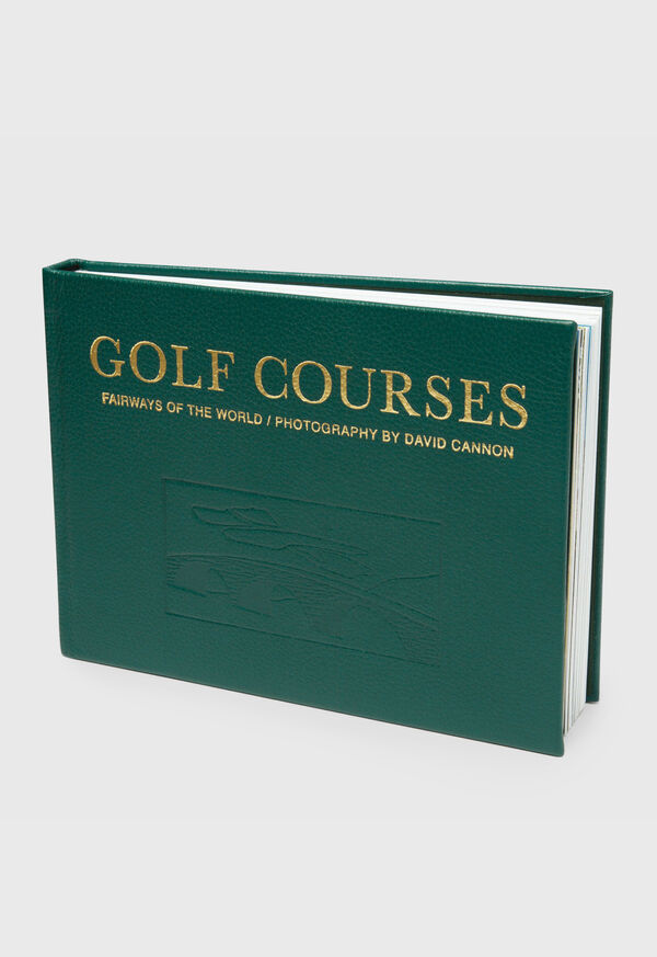 Golf Course Leather Book, image 1